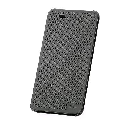 best website b86ed 88622 Amazon.com: Official HTC Desire 820 Dot View Case - Warm Black ...