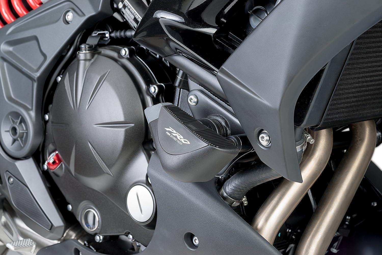 PUIG - 7702N : Protector Motor Pro Kawasaki VERSYS 650 15 Color Negro Kawasaki -> VERSYS 650 (15): Amazon.es: Coche y moto