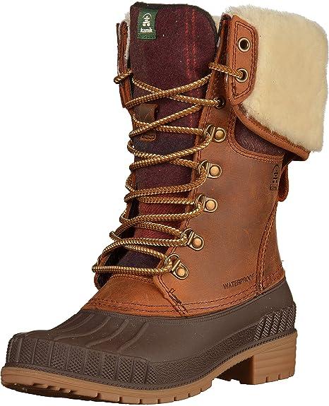 Kamik Alborg Winter Boots Damen tan
