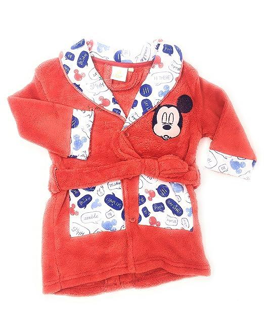 Bata pijama bebe Mickey Mouse (12 meses)