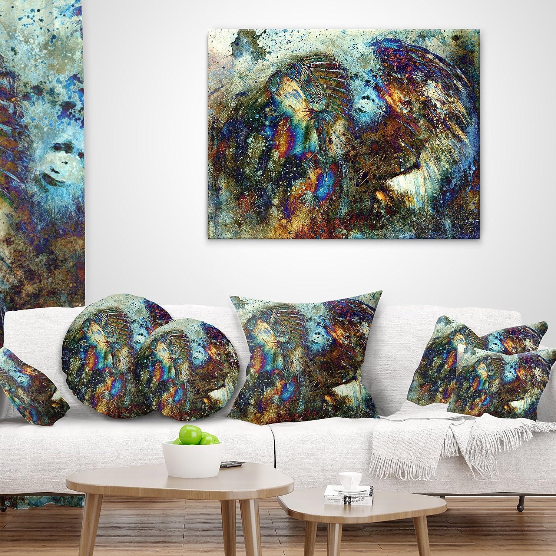 Kess InHouse Artist Name Geometric Movement Throw 80 x 60 Fleece Blanket