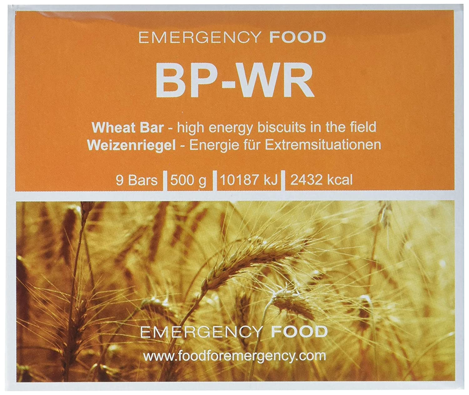 BP WR – Emergency Food – Emergency Provisions, Long Term Nutrition BP5 by buy+smile Compact 230100