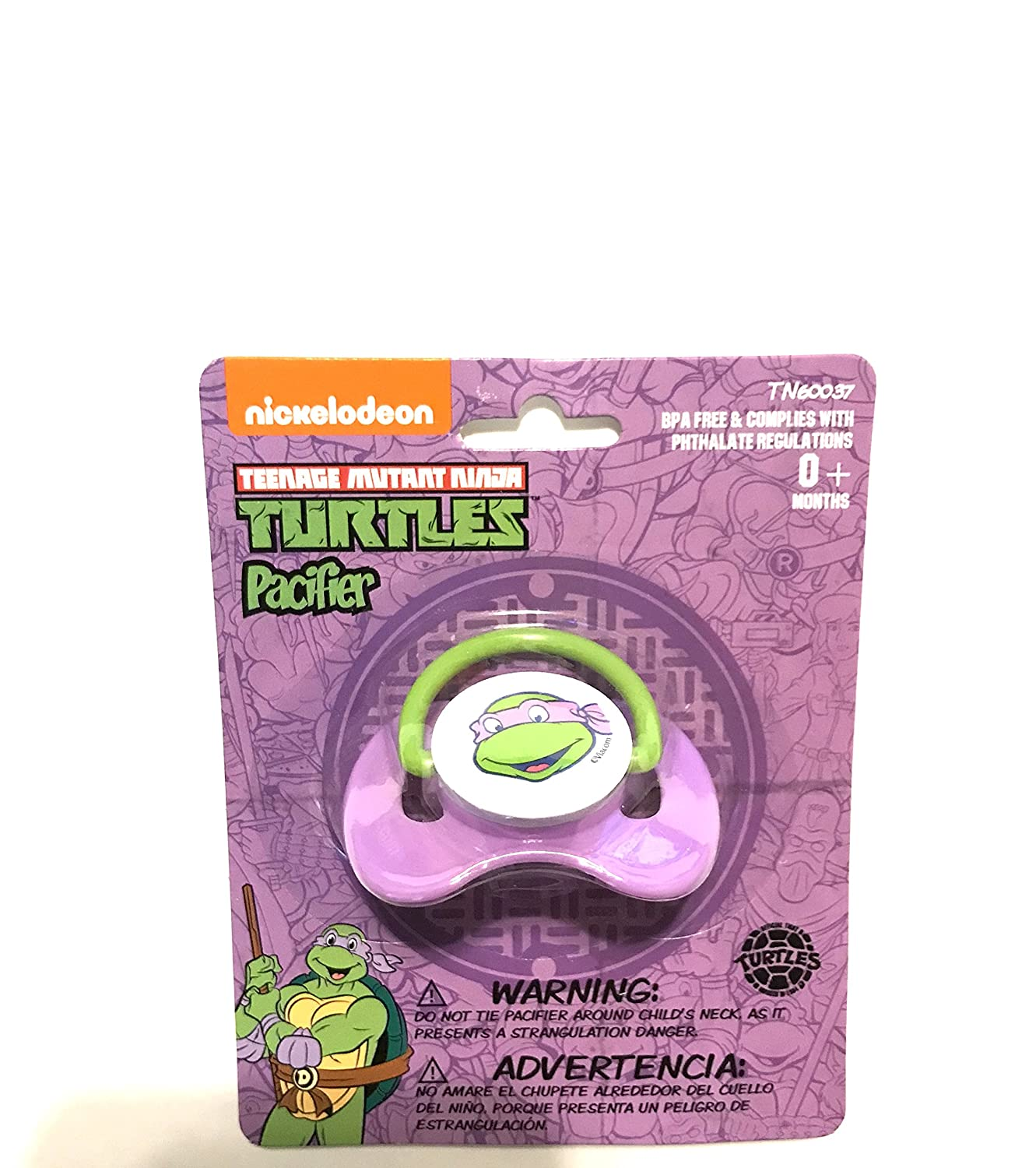 Amazon.com : Donatello Pacifier : Baby