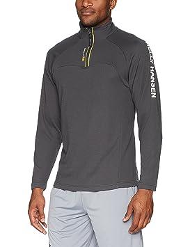 Helly Hansen HP 1/2 Zip Pullover Sudadera, Hombre, Negro (ebenholz), S: Amazon.es: Deportes y aire libre