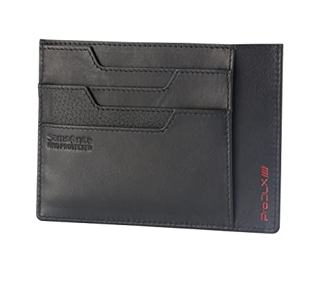 Samsonite Pro DLX 4S Portefeuille RFID 8cc + 2 Compartements Holder, 14 cm