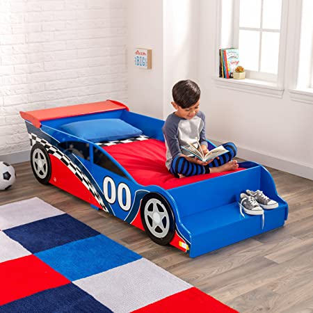 Amazon KidKraft Race Car Toddler Bed Toys Games