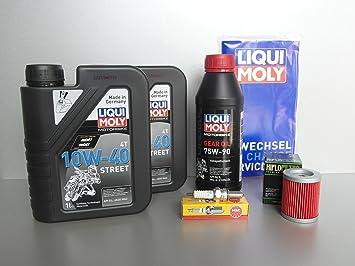 Kit de mantenimiento SYM maxsym de 600, oelfilter, Bujía, OEL, Service: Amazon.es: Coche y moto