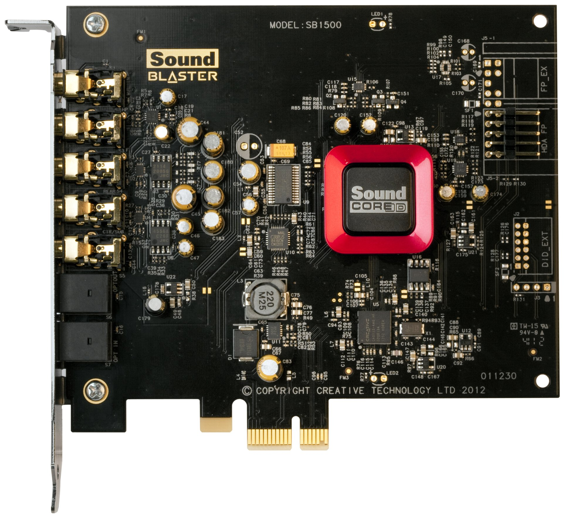Creative Labs 30SB150200000 SB1502VP Sound Blaster Z PCIE VARpak by Creative Labs
