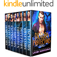 Dragon Protectors Boxed Set: Dragon Shifter Vampire Fated Mates Romance