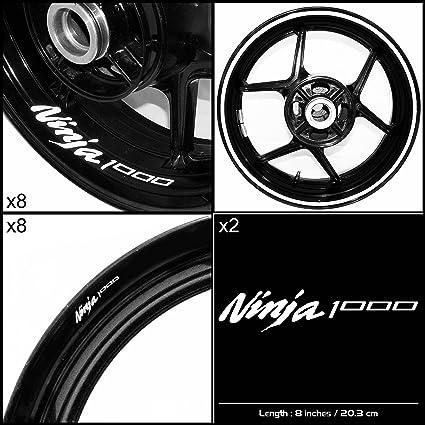 Amazon.com: Stickman Vinyls Kawasaki Ninja 1000 Motorcycle ...