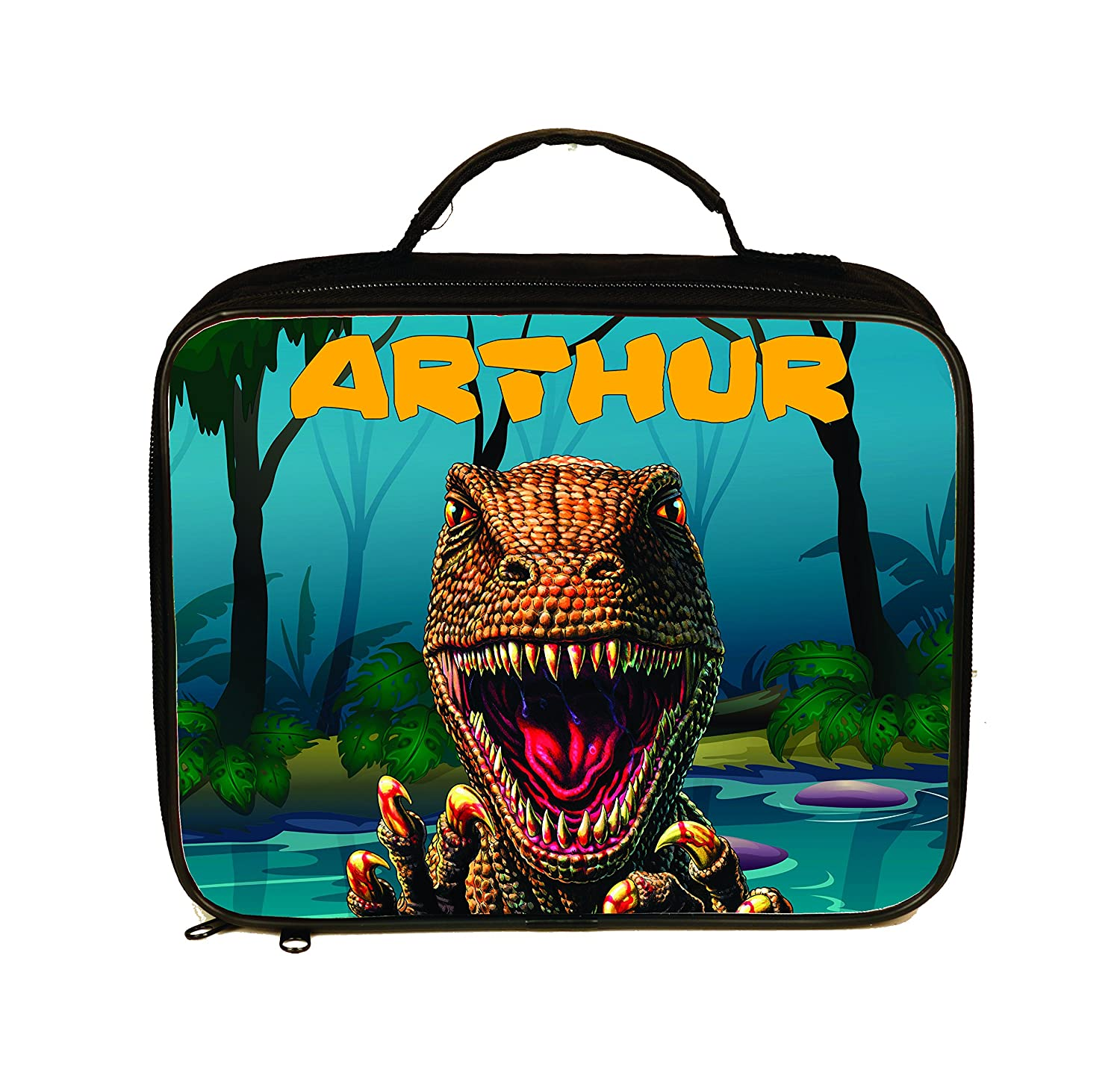 Dinosaur TRex Personalized Insulated Lunch Tote/Lunchbox