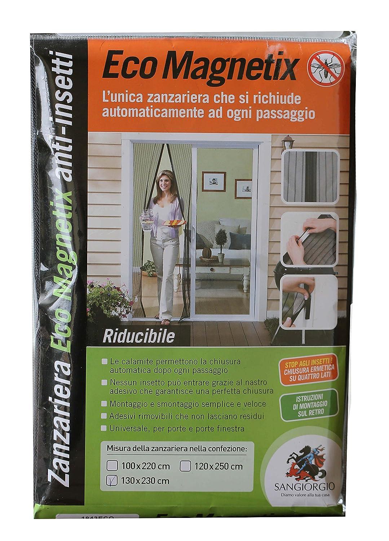 130/x 230 cm BricoShopping Moustiquaire magn/étique r/éductible
