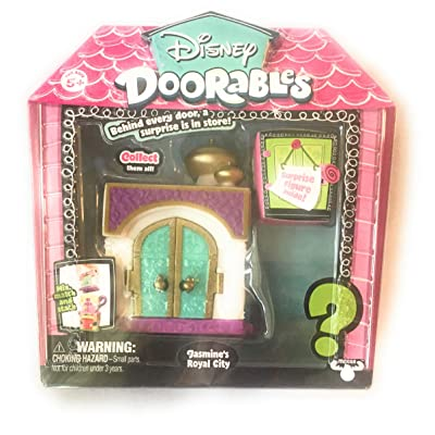 Disney Doorables Jasmine's Royal City with Surprise Figure Inside: Toys & Games