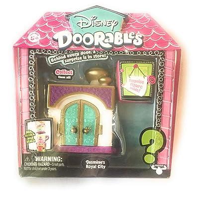 Disney Doorables Jasmine's Royal City with Surprise Figure Inside: Toys & Games [5Bkhe0501030]