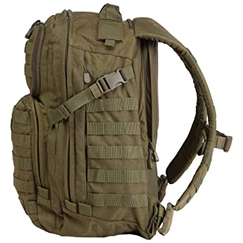 5.11 Tactical 58601 - Mochila Rush 24 Tac Od, Verde: Amazon.es: Deportes y aire libre