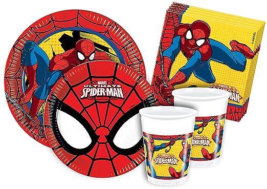 120 opinioni per Ciao Y2493- Kit Party Festa in Tavola Spider Man per 24 Persone (112 Pezzi: 24
