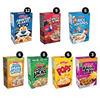 Deals on 48-Count Kelloggs Breakfast Cereal Variety Pack
