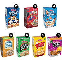 48-Count Kellogg's Single-Serve Breakfast Cereal Variety Pack