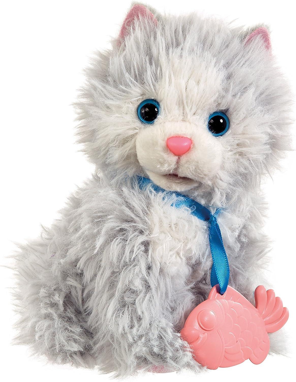 Vivid Imaginations Animagic Feed And Care Kitten Soft Plush Toy Multi Colour Amazon Co Uk Toys Games