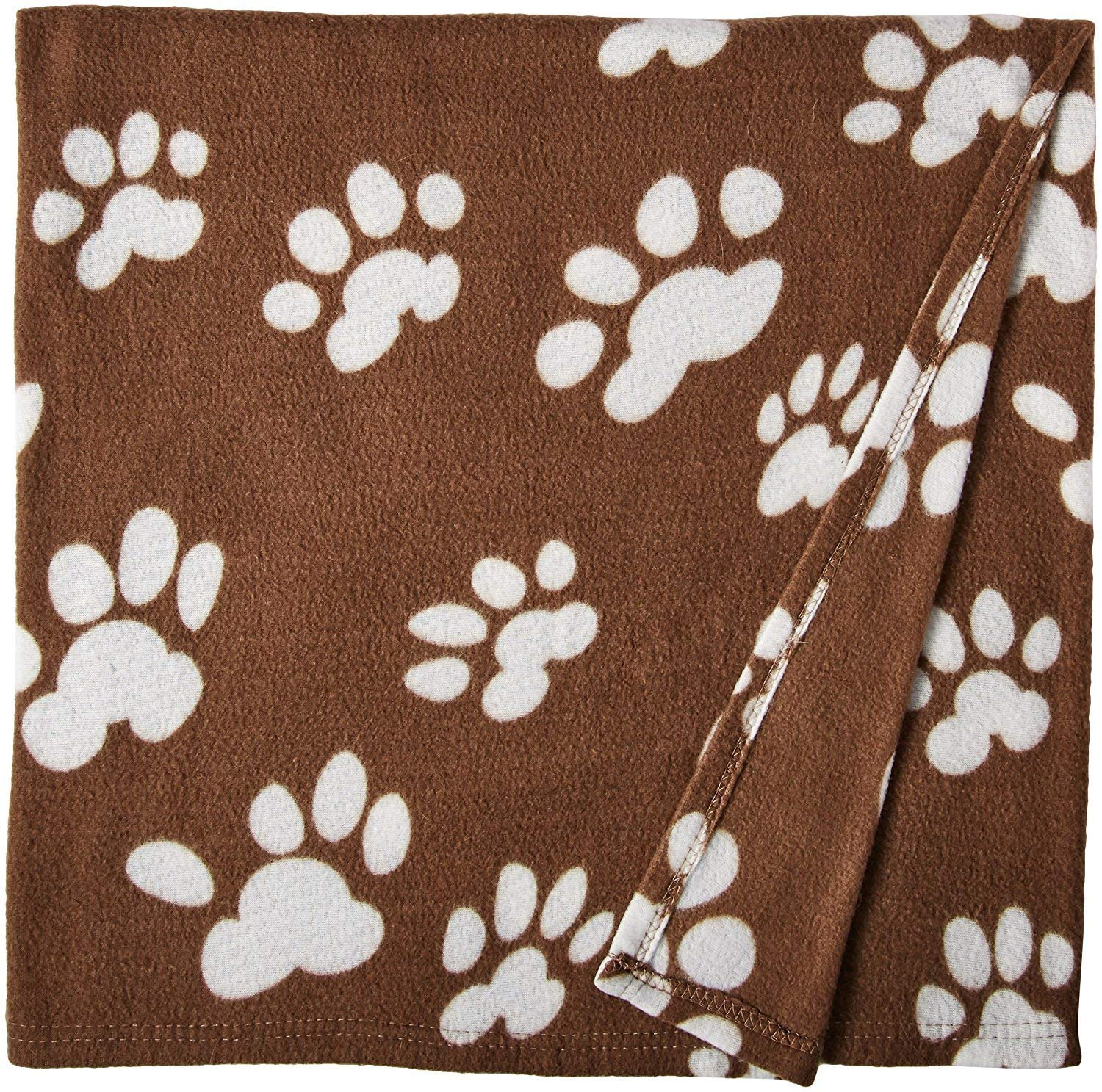ANDRE HOME Comfortable and Soft Fleece Pet Blanket Pet Bed