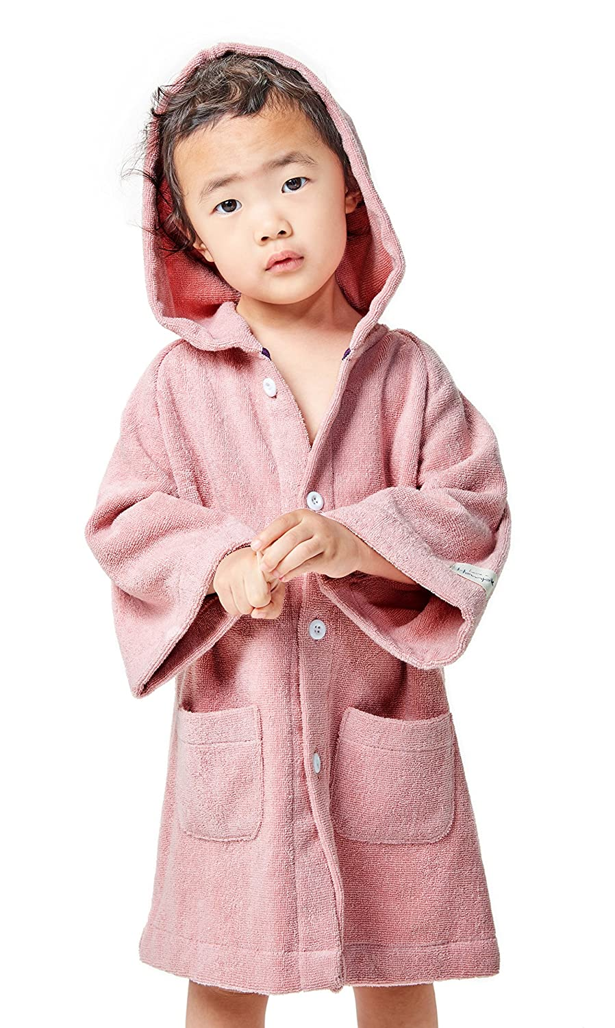 8dfd17cd5b Amazon.com  Hemp Bath   Beach Hooded Robe Jacket for Boys and Girls ...