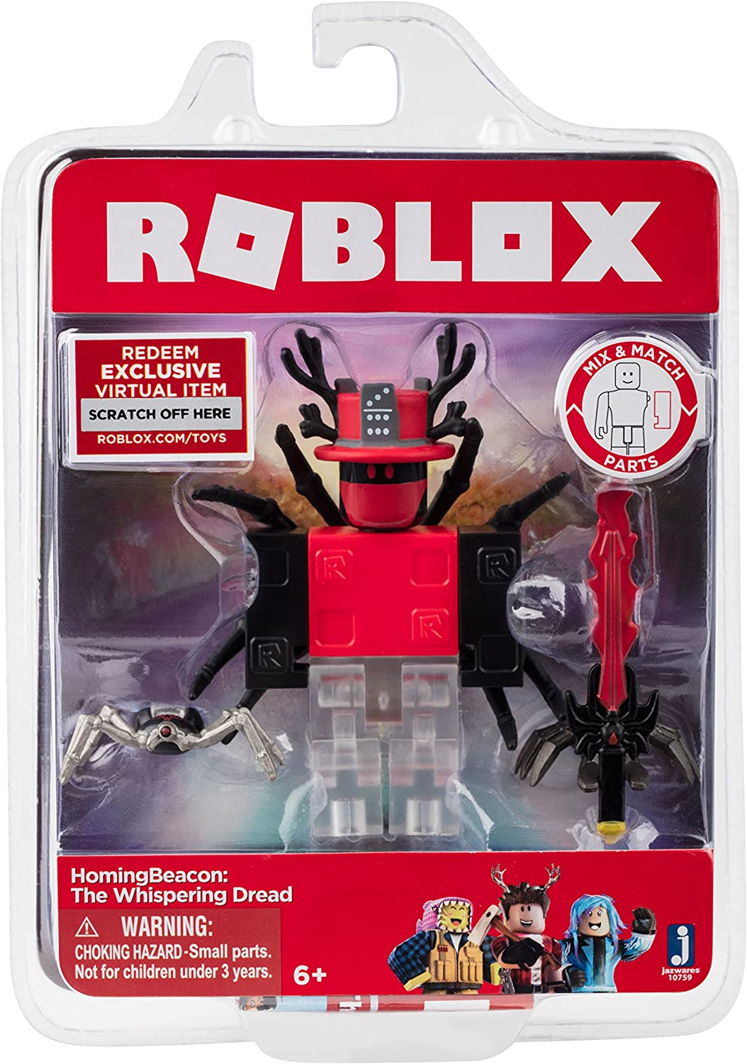 Roblox Song Id Lovely Roblox 4 Free Amazon Com Roblox Homingbeacon The Whispering Dread Figure Pack Toys Games