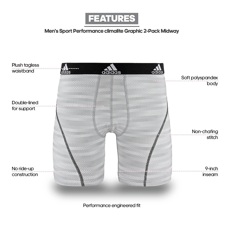 Adidas - Camiseta de Deporte Performance Climalite 9