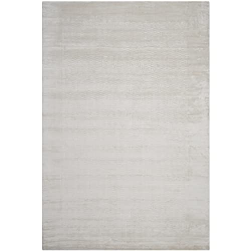 Safavieh Mirage Collection MIR721A Hand-Knotted Pearl Wool Area Rug 6 x 9