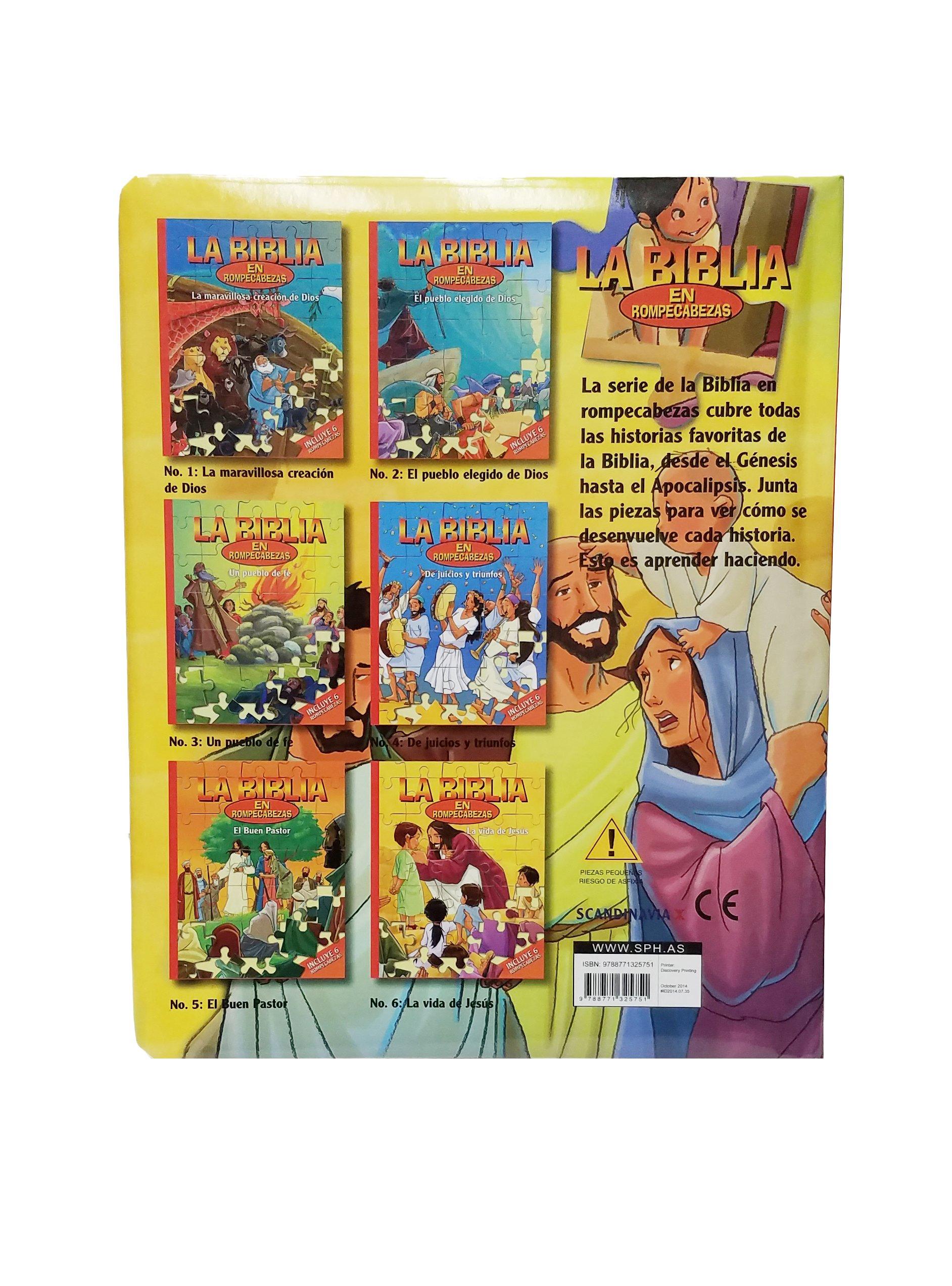 La Vida de Jesús-La Biblia en Rompecabezas Juegos de Niños-Juegos Bíblicos-Rompecabezas de la Biblia- San Pedro-Zaqueo-Jesús ama a los niños-Jesús en .