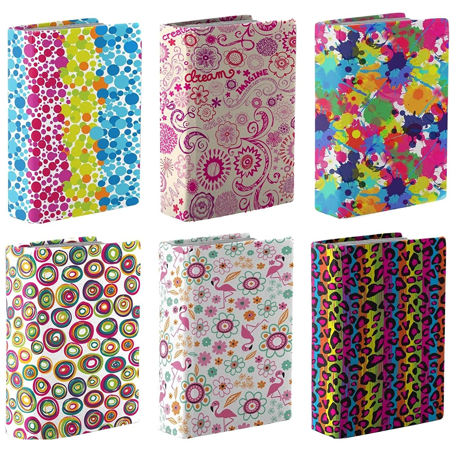 Pack of 6 Stretchable Book Covers - from Kittrich