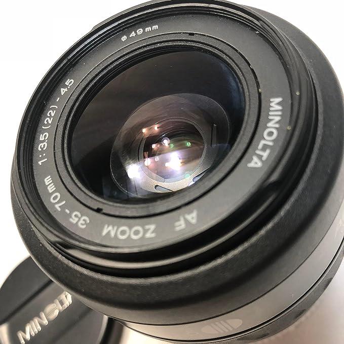 Konica Minolta 35 70 3 5 Objektiv Kamera