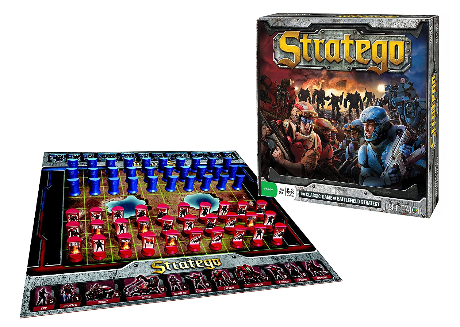 amazon com stratego board game toys games