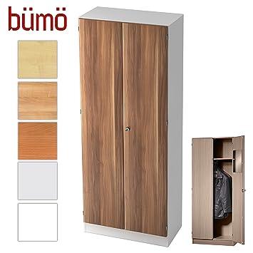 Bumo Office Garderobenschrank Abschliessbar Aus Holz