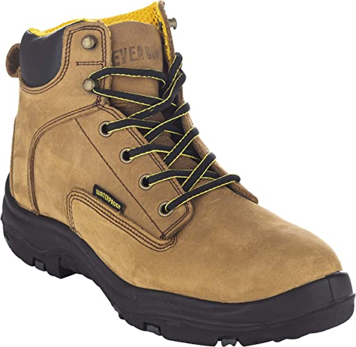 """ever boots """"ultra dry"""" men's premium leather waterproof work boot"""