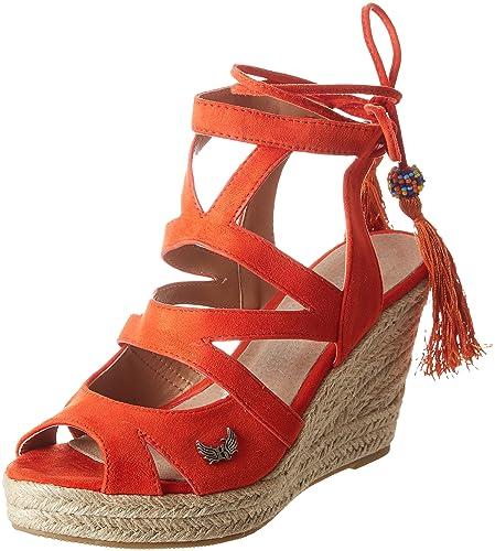 c0a92fc78d555f Kaporal Tanao, Sandales Plateforme Femme: Amazon.fr: Chaussures et Sacs