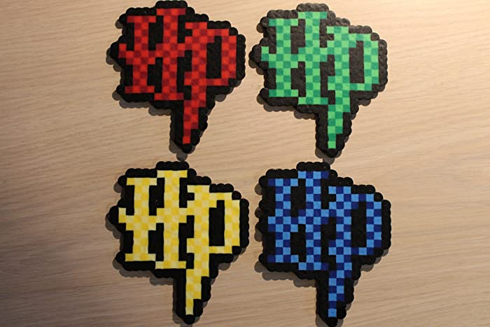HP Logo Pixel Art Bead Sprites From The Harry Potter Series
