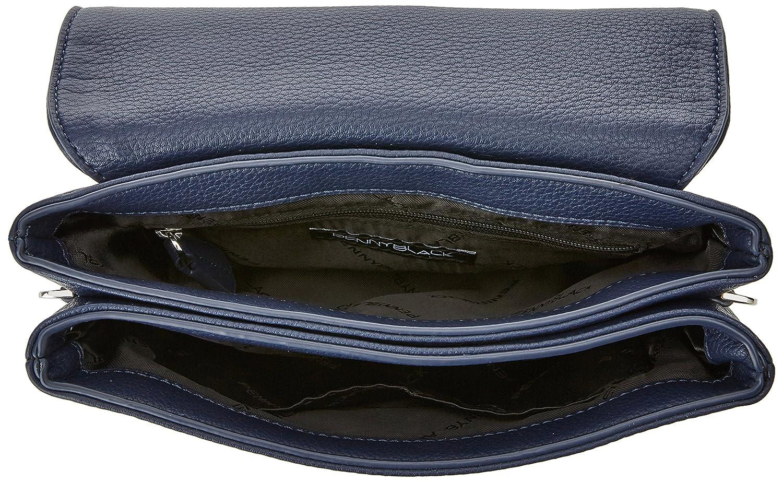 Selva, Womens Cross-Body Bag, Blu (Blu Marino), 5x18x22 cm (W x H L) Pennyblack