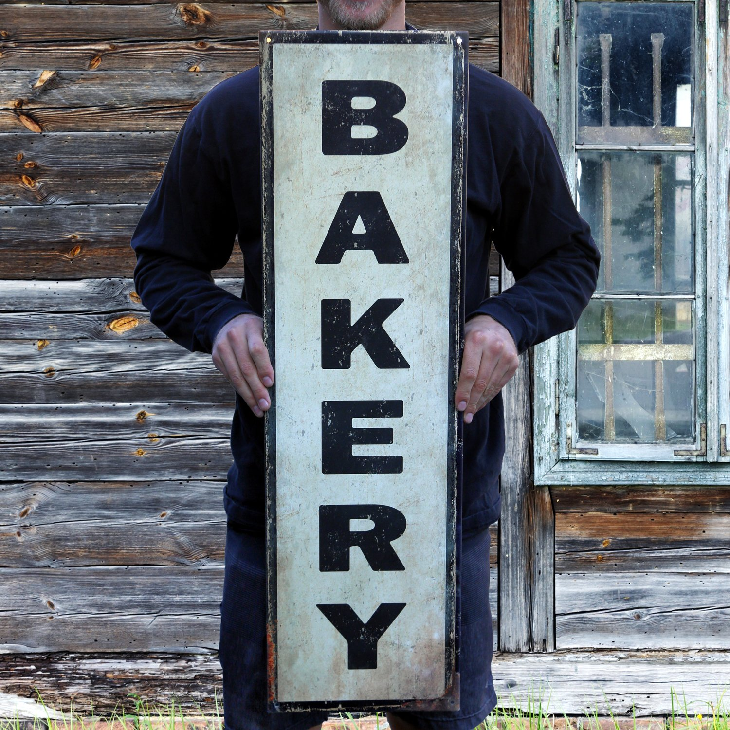 Amazon.com: Handcrafted Vintage Bakery Steel Sign (36\