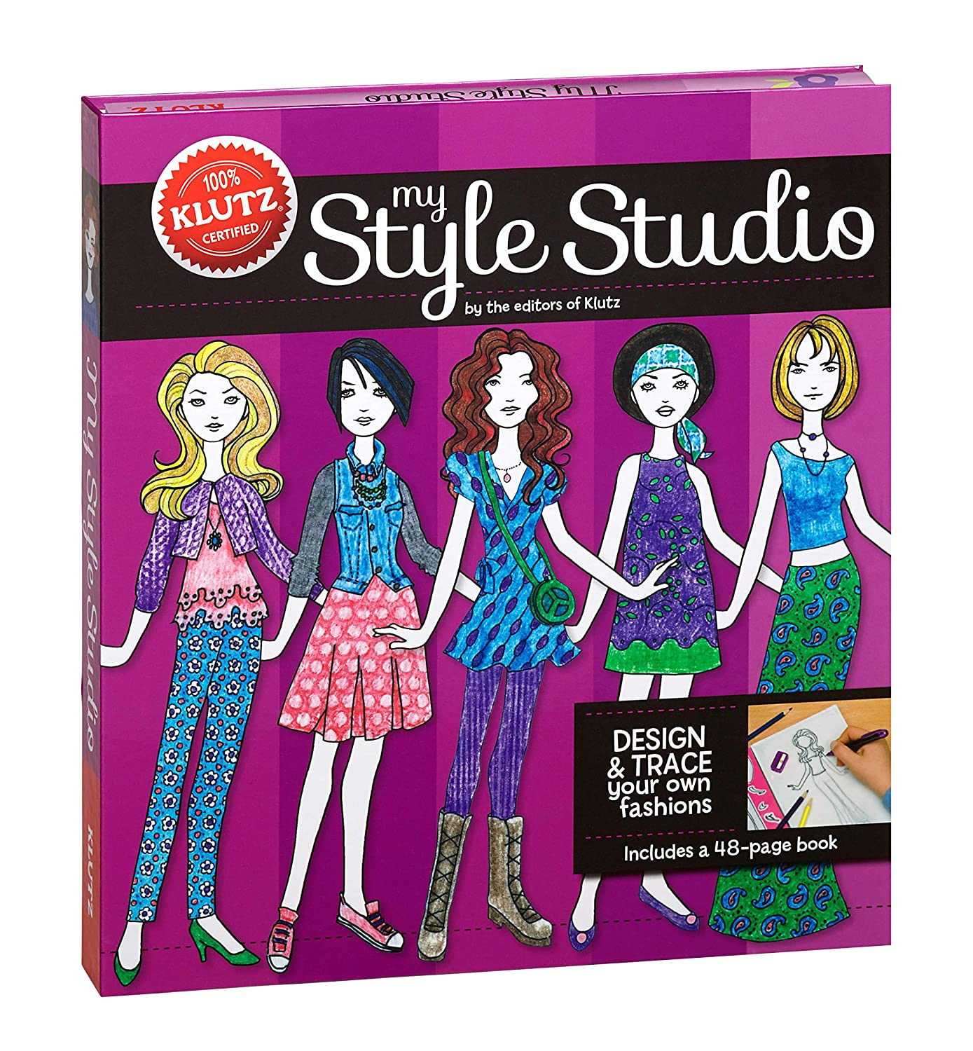 Klutz My Style Studio: Design & Trace Your Own Fashions Klutz Press 565053 Interest age: from c 8 years Juvenile Nonfiction