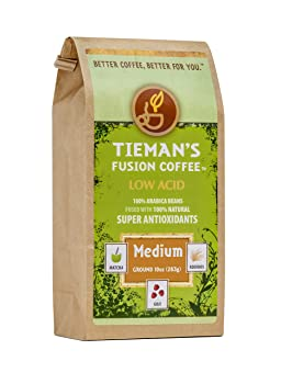 Tieman's Fusion Coffee, Low Acid Medium Roast
