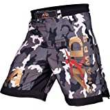 ARD CHAMPS Camo Pro MMA Fight Shorts Camouflage UFC Cage Fight Grappling Kickboxing
