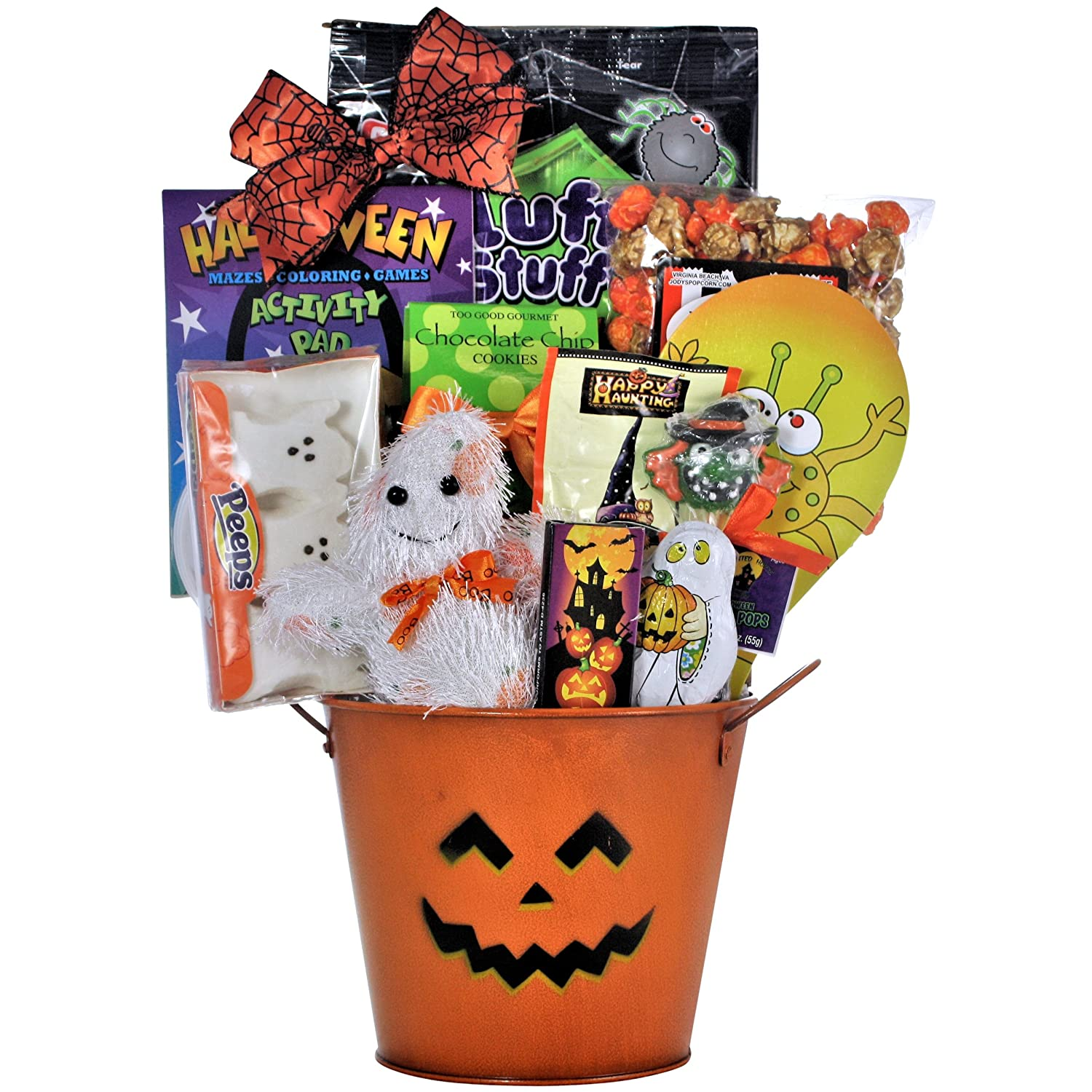 Amazon.com : Spooky Sweets & Treats: Halloween Gift Basket for ...