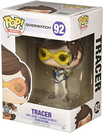 Funko Pop Game Overwatch Tracer Vinyl Action Figure Collectible Toy #92