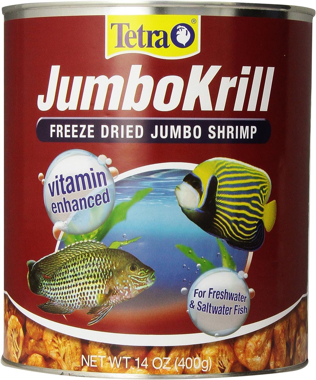 B00025K0ZI Tetra JumboKrill Freeze Dired Jumbo Shrimp, Vitamin Enhanced 91PmRqFjGqL