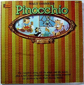 All the Songs from Walt Disney's Pinocchio: Music from the Original Sound  Track Soundtrack