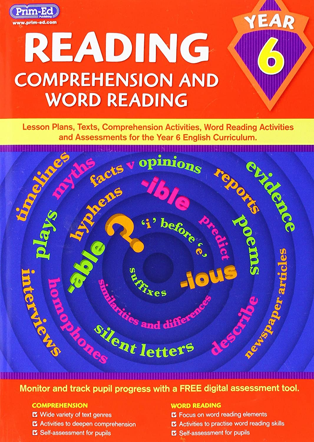 Reading-Comprehension and Word Reading Year 6