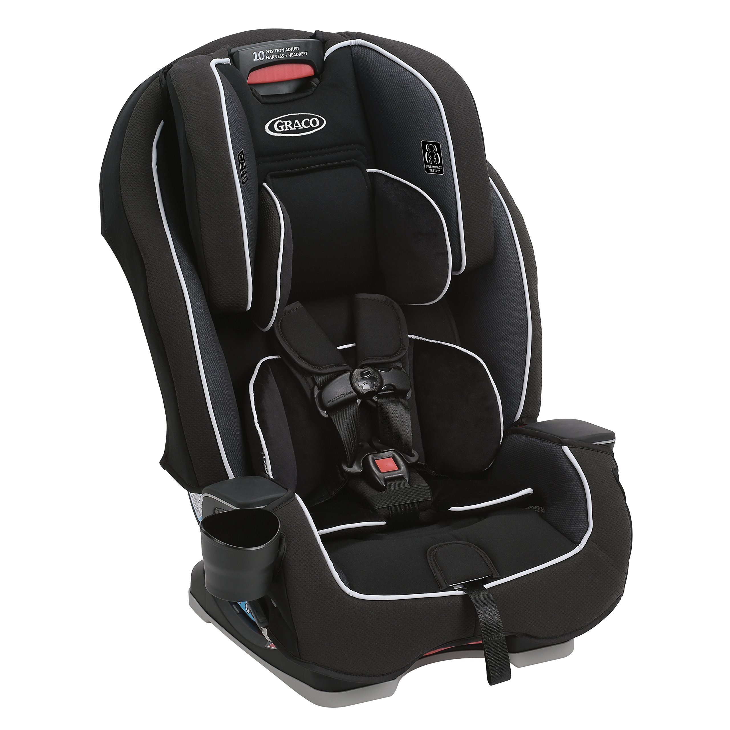 Graco Milestone All-in-1 Convertible Car Seat, Gotham by Graco (Image #4)