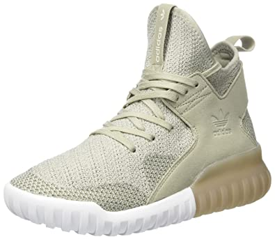 new style 58bfa a31df adidas Mädchen Tubular X Primeknit Hohe Sneaker, Beige (Sesame Clear Brown  Trace