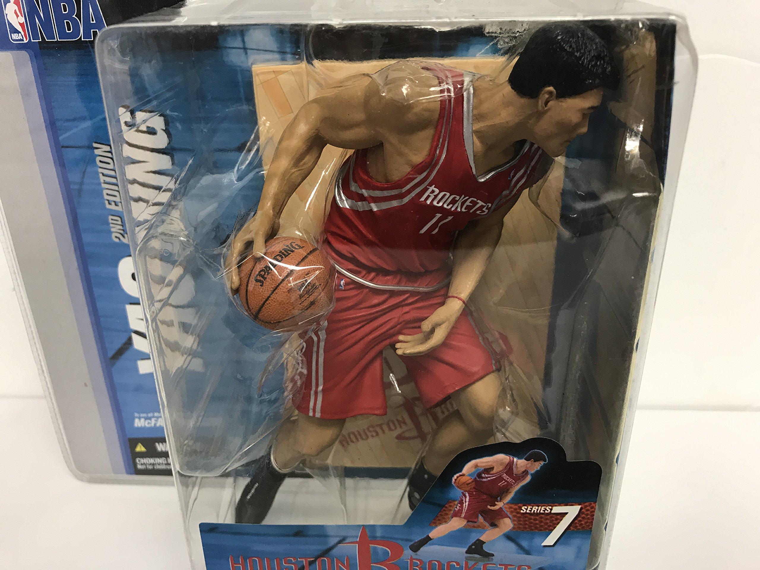 Yao Ming Houston Rockets NBA Basketball McFarlane Action Figure
