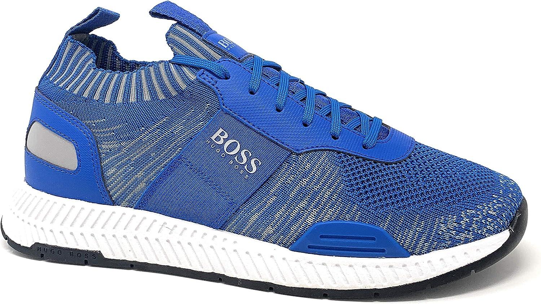 hugo boss trainers blue